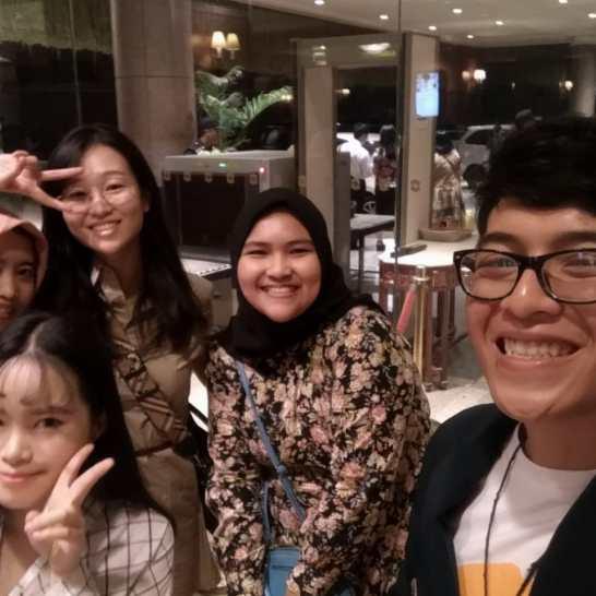 Sahabat Korea dan Miss Dodam Chung Dari Kedubes Republik Korea untuk Indonesia