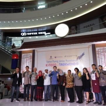 Dubes Kim Chang Beom bersama Pemerintahan Surabaya dan Pihak yang Terkait.