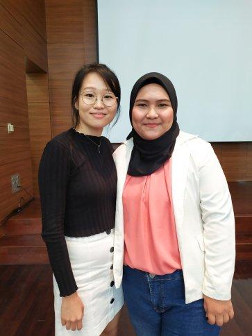 With Miss Jung Dodam